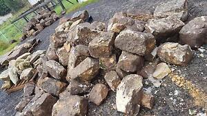 Sandstone blocks. Elanora Heights Pittwater Area Preview