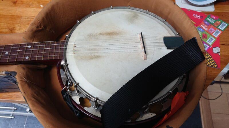 Windsor Whirle Gem Junior 5-string banjo - reg450220 vintage British made 1920s