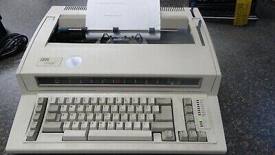 Ibm Wheelwriter 1000 Typewriter- Electric- Works Great