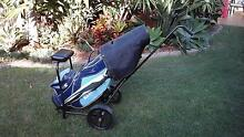 Golf club set cart and umbrella Varsity Lakes Gold Coast South Preview