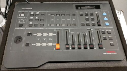 Panasonic WJ-AVE5 Video Mixer with case