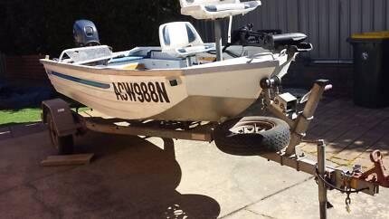 Sea Jay 4.0 aluminium fishing boat