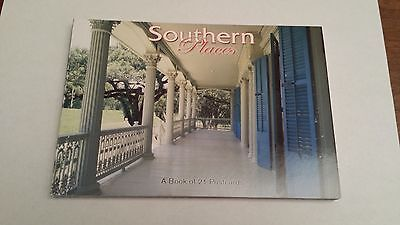 SOUTHERN PLACES -  A BOOK OF 21 POSTCARDS OF SOUTHERN PLACES
