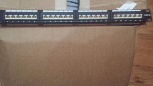 CAT6 UTP 24 Port Network Patch Panel