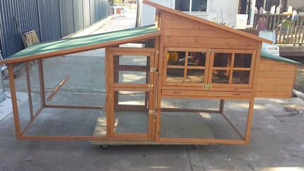 The J7 Extra Large stylish Chicken Coop Clontarf Redcliffe Area Preview