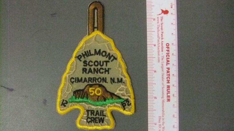 Boy Scout Philmont 50th Trail Crew Arrowhead 5072HH