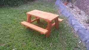Kids outdoor picnic table Boambee Coffs Harbour City Preview