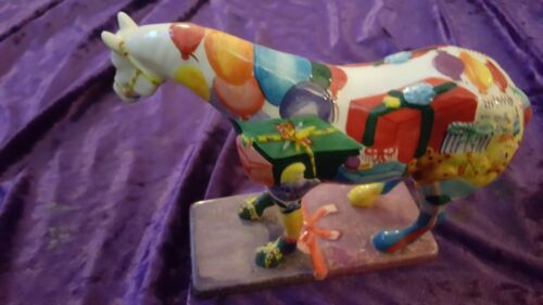 THE TRAIL OF PAINTED PONIES - THE GIFT HORSE - #12225 WESTLAND GIFTWARE model !!