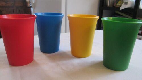 New Tupperware set of 4  bell tumblers