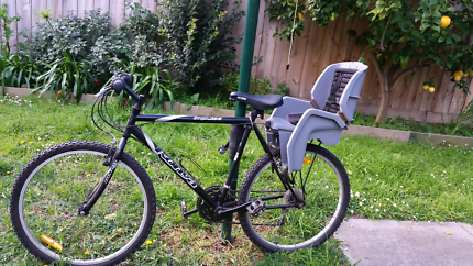 Moutain bike with child seat