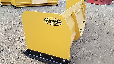 6 Ft New Snow Pusher Plow Free Ship Bobcat John Deere Compact Kubota Tractor