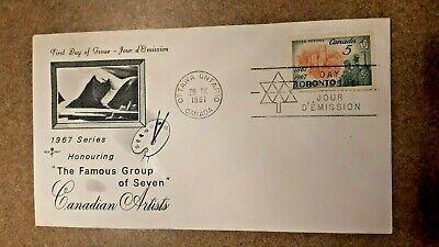 Canada 1967 #475 5c Rosecraft Toronto Centenary FDC Mint Unaddressed single