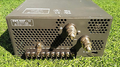 Nemic Lambda Ews600-12 Power Supply 12 V 53 Amp 100-240 Vac