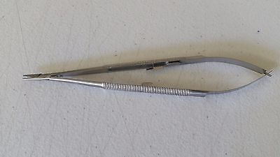 Castroviejo Needle Holder 7 Straight German Stainless Steel Ce Surgical