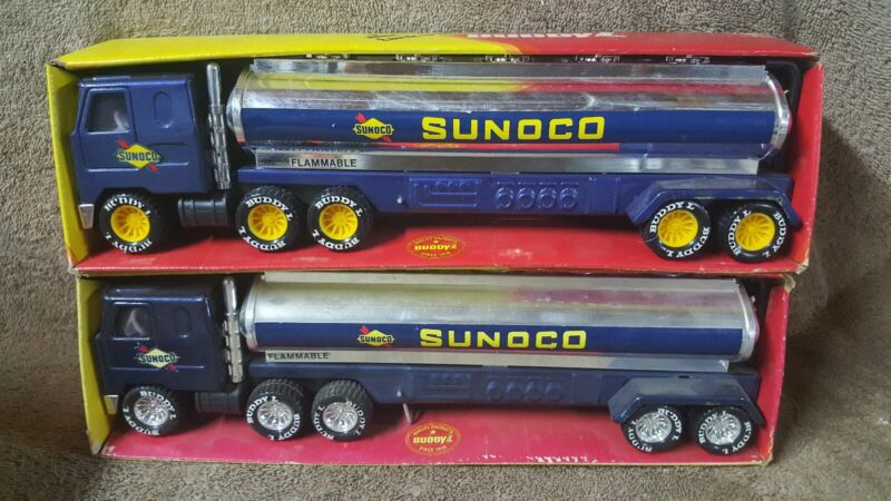 VINTAGE 1979 BUDDY L MACK Truck SUNOCO TANKERS  # 5256E & #5256F Two Variations