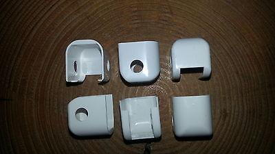 GU Abdeck Kappe 9-35461 für Ecklager für Holz und Kunstoffenster Farbe Weiß