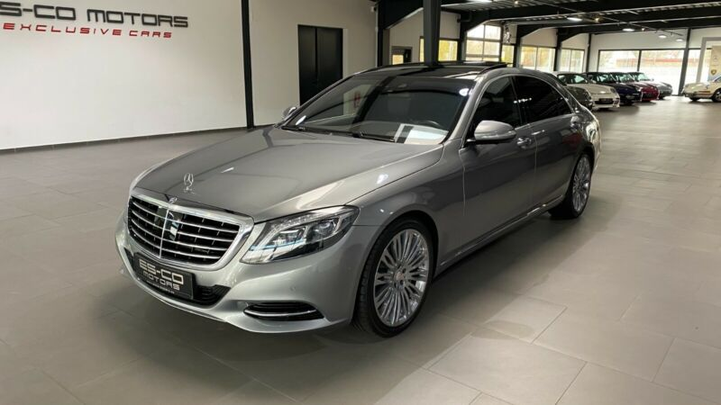 Mercedes-Benz S 500 LANG PLUG-IN HYBRID PANO DISTRONIC HEAD-UP
