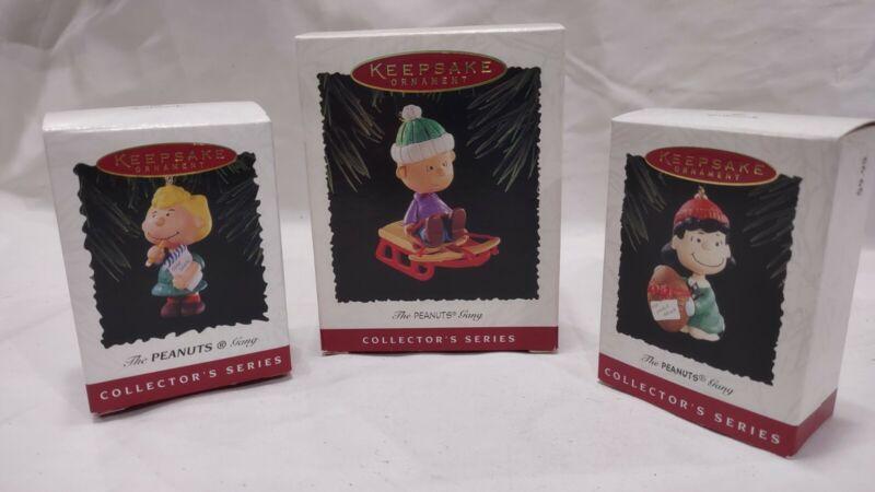 Hallmark Keepsake The Peanuts Gang Ornaments  1994-1996