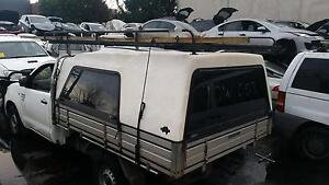 2005 - 2015 Toyota Hilux Single Cab * Tray + Canopy + Roof Rack * Sunshine Brimbank Area Preview