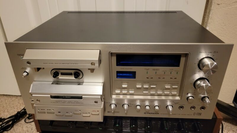 Vintage Pioneer CT-F1250 Cassette Tape Deck w/ New Belts (Serviced)