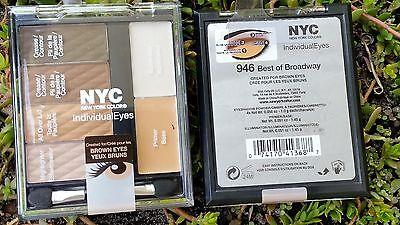 2 NYC INDIVIDUAL EYES EYE SHADOW QUADS PRIMER & ILLUMINATOR 946 BEST OF
