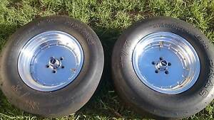 Holden EH HR HK TORANA EARLY STUD PATTERN REAR WHEELS Penrith Penrith Area Preview
