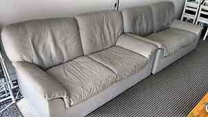 FREE leather  sofas x 2 Chiswick Canada Bay Area Preview