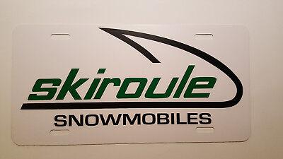 Vintage - Skiroule Snowmobile