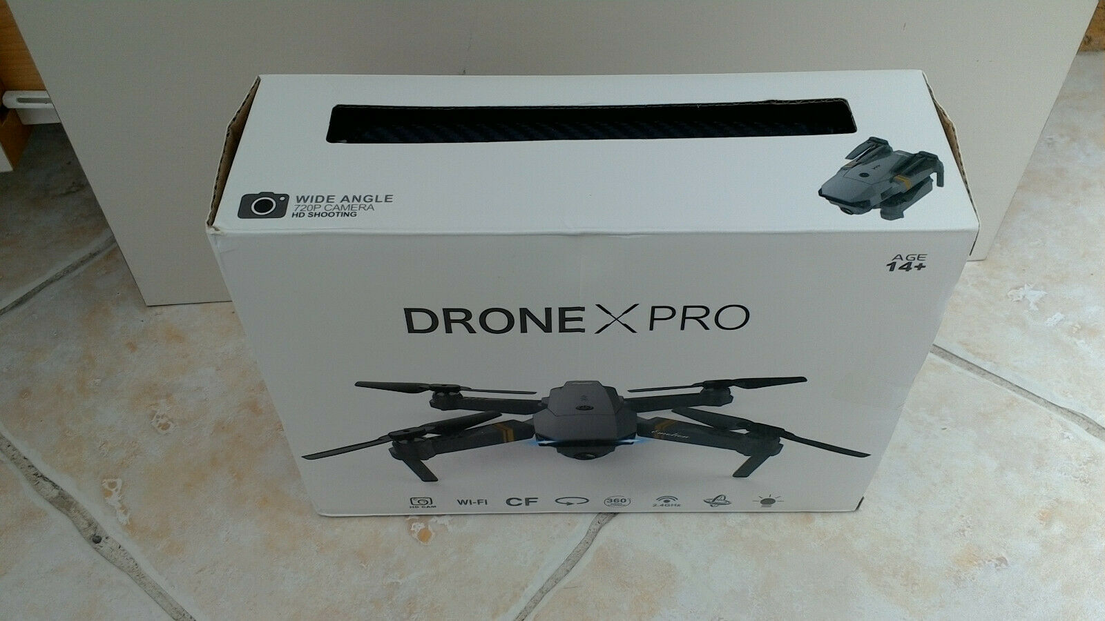 Drone X Pro Foldable Quadcopter w/ 720P HD Camera|WiFi FPV GPS Batteries RC#SALE