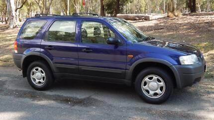 2004 Ford Escape Wagon Zillmere Brisbane North East Preview