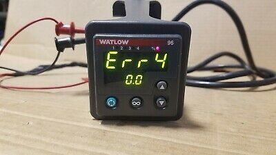 Watlow 96 96a0-caau-00gg Temperature Controller With Bracket M100g