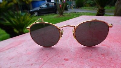 Vintage Sunglasses Ray-ban W1573 Nxaw B&L Made in USA John (Rayban John Lennon)