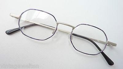 Brillengestell mehreckige, kleine Form, Metallfassung für Frauen+Männer Gr. M