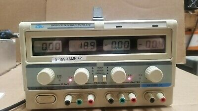 Zhongce 0-15v 4a Dual Output Dc Power Supply