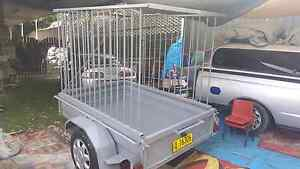 6x4 box trailer with high cage rego spare jockey wheel cheap Kemps Creek Penrith Area Preview