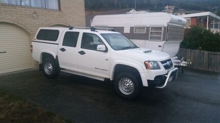 2010 Holden Colorado 3 litre turbo diesel Claremont Glenorchy Area Preview
