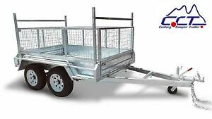 CCT 10×6 FULLY WELDED TANDEM BOX TRAILER Salisbury Brisbane South West Preview