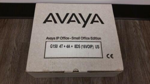 *NEW* Avaya G150 IP Small Office Bundle 700343601 phone system ^^^