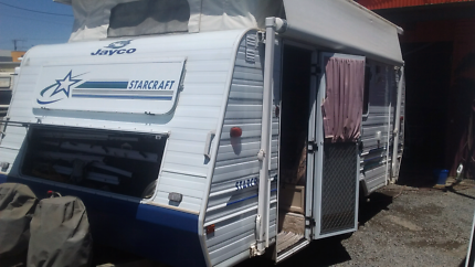 JAYCO STARCRAFT 16' POP TOP Melrose Park Mitcham Area Preview