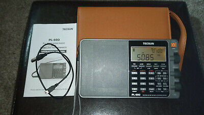 TECSUN PL-880 PORTABLE WORLD BAND SHORTWAVE RADIO RECEIVER