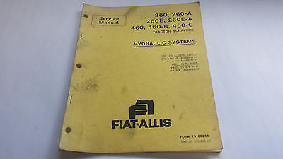 Fiat-allis Service Manual 260 260-a 260e 260e-a 460 460-b 460-c