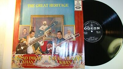 "Raga LP Ustad Imrat Khan ""The Great Heritage"" NM"
