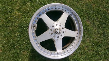 "Genuine set Veilside Andrews V 18"" 4x114.3 5x114.3 supra wheels"