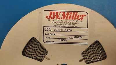 20 Pcs 07525-120k Jw Miller 12uh 10 Inductor Coil Filters