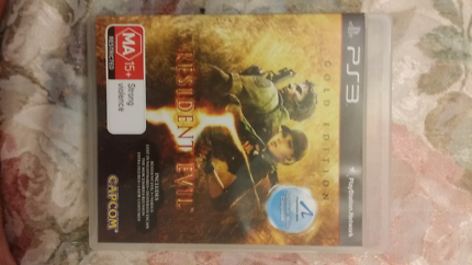 Resident Evil Gold Edition PS3 PlayStation 3 Game