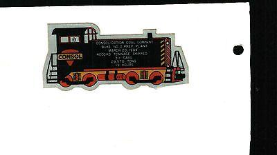 Nice Blacksville 2 Consol Coal Co  Coal Mining Sticker   814