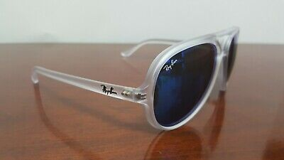 Ray-Ban Sunglasses RB 4125 CATS 5000 646/17 Made in Italy