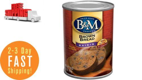 Brown Bread, Raisin Bread, 16 Ounce (Pack of 12)