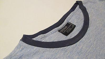 Polo By Ralph Lauren Men's Size XL Short Sleeve Cotton Blend T-Shirt Blue