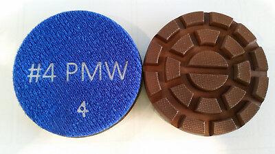 3 - 200 Grit Copperresin Diamond Pad For Polishing Concrete Floors